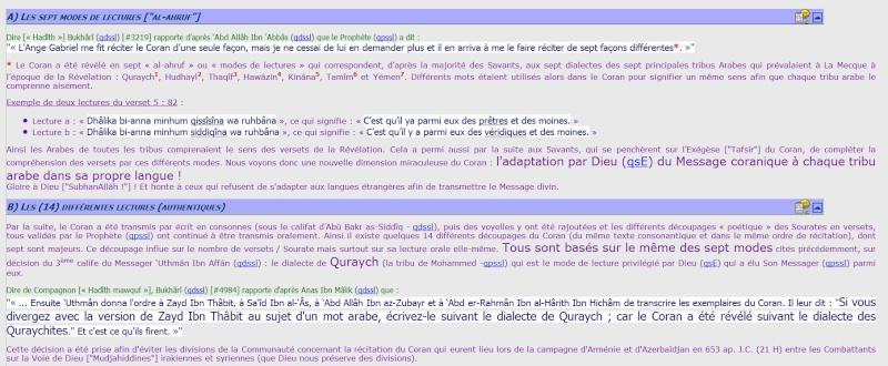 Les 7 AHRUF حروف  Lectur10