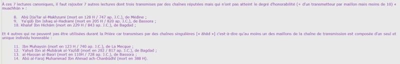 Les 7 AHRUF حروف  Lectur12