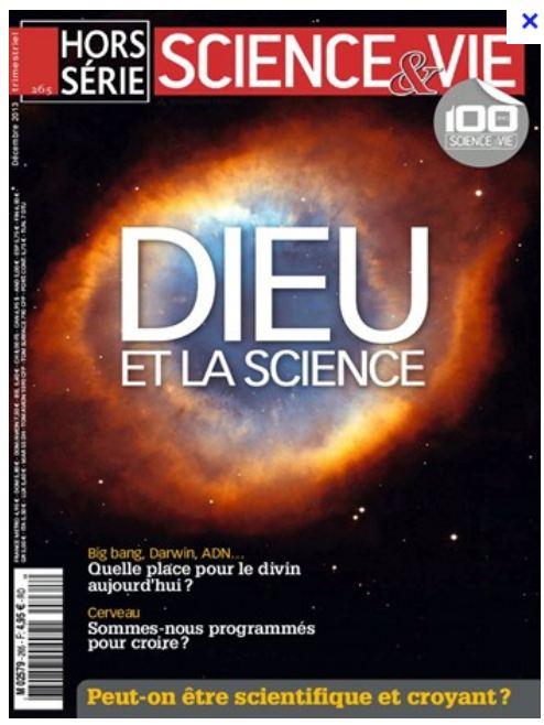 Science et Vie Hors Série: Dieu et la science Scienc10