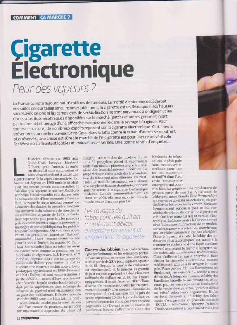 Article dans Hardware N°20 Page110