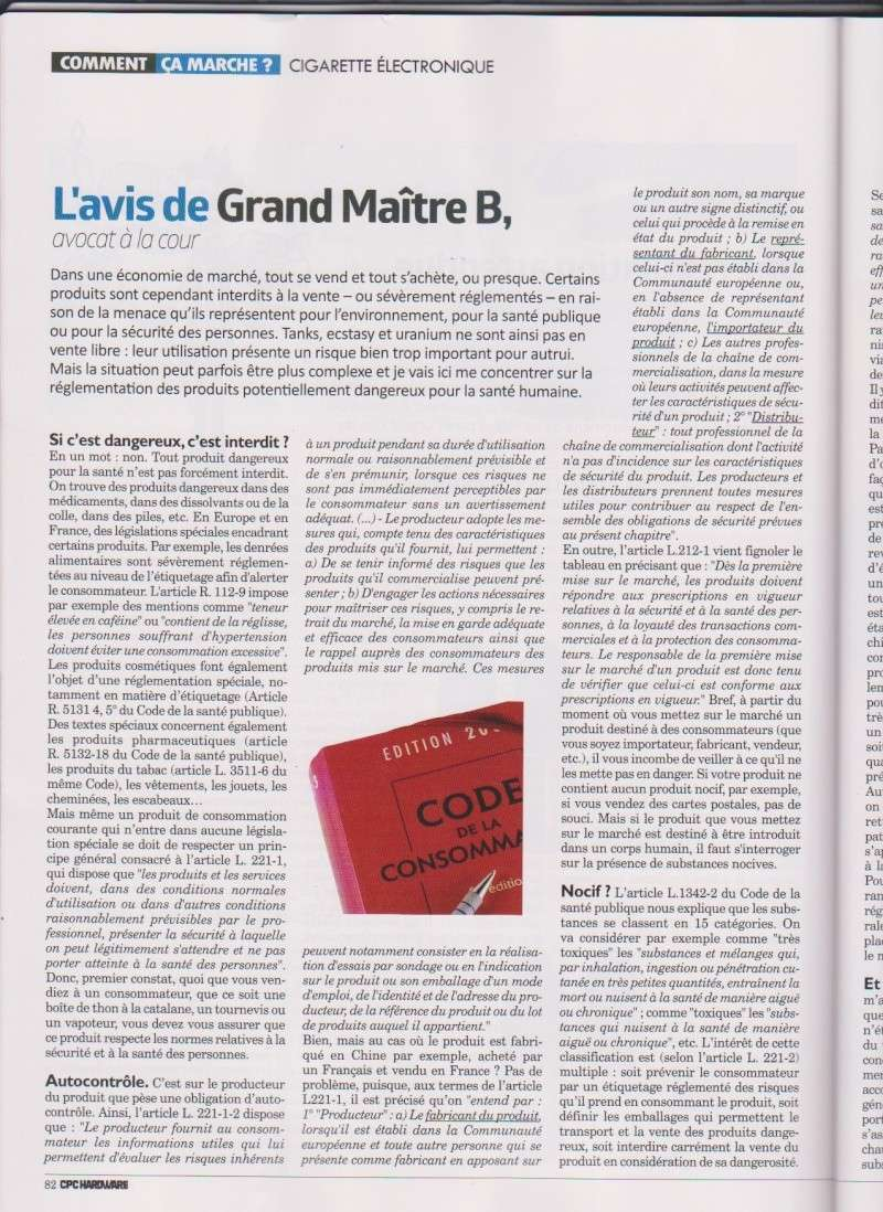 Article dans Hardware N°20 Page1110