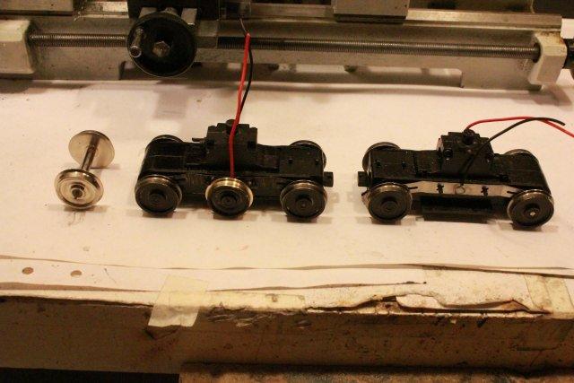 Das dritte Projekt 2014 - Die Henschel-BBC DE2500 Lok in 0 Hp431310