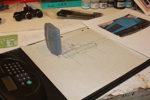 Das dritte Projekt 2014 - Die Henschel-BBC DE2500 Lok in 0 Hp431510