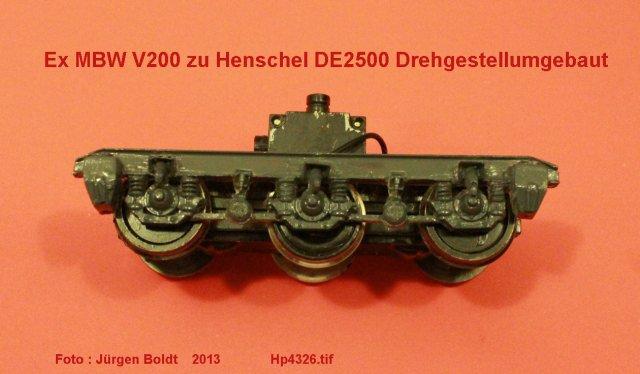Das dritte Projekt 2014 - Die Henschel-BBC DE2500 Lok in 0 Hp432610