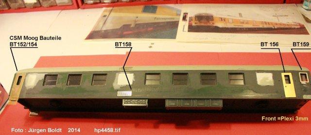 Der Fahrwegmessungszug der DB Hp445810