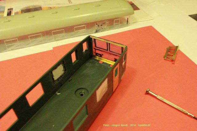 Der Fahrwegmessungszug der DB Hp445910