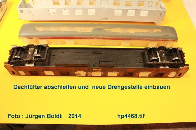 Der Fahrwegmessungszug der DB Hp446810