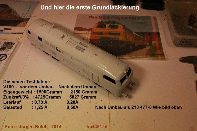 Der Fahrwegmessungszug der DB Hp449110