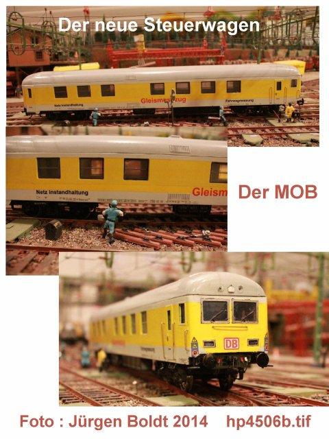 Der Fahrwegmessungszug der DB Hp450610