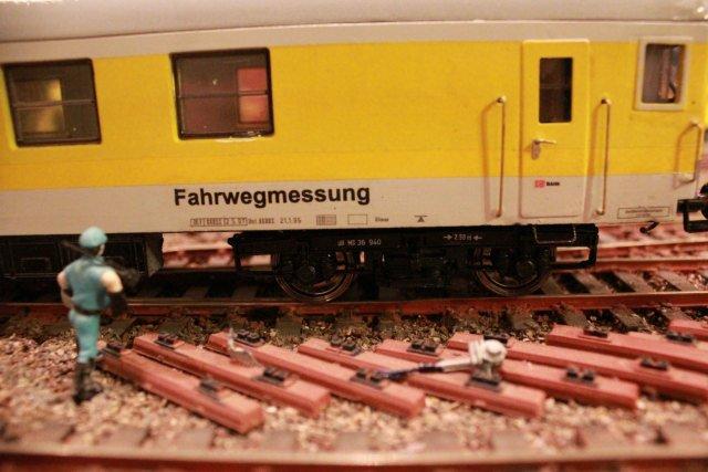 Der Fahrwegmessungszug der DB Hp451110
