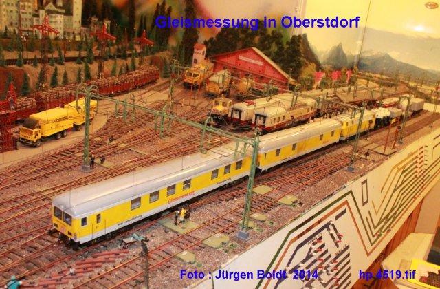Der Fahrwegmessungszug der DB Hp451910