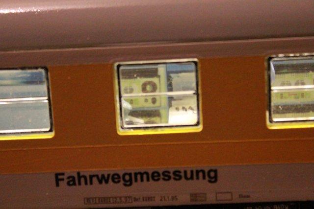 Der Fahrwegmessungszug der DB Hp453810