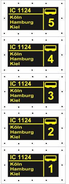 2tes Projekt 2014 -Der IC 1124 Kiel in 0 Kiel1510