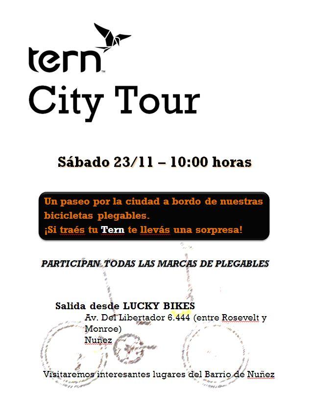 TERN CITY TOUR 3 - Salida desde Lucky Bikes Tern_l10