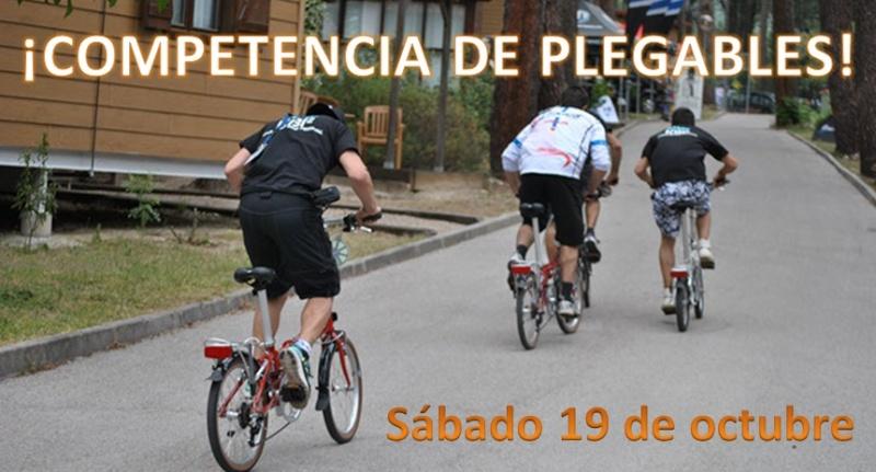 ¡COMPETENCIA DE PLEGABLES! Sábado 19/10 - 15 horas Titulo11