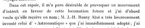 "Origine du mot ""astronautique"" Ag_rep10"