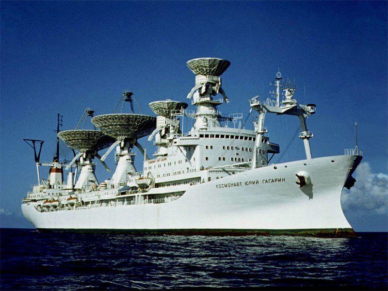 """Navires URSS """"spatiaux"""" Bateau14"""