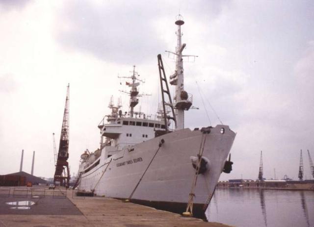 """Navires URSS """"spatiaux"""" Bateau26"""