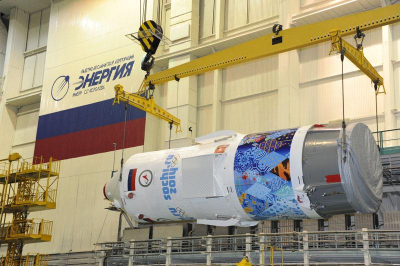 Lancement & retour sur terre de Soyouz TMA-11M  Soyuz104