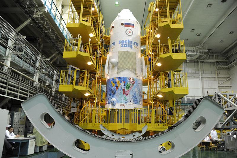 Lancement & retour sur terre de Soyouz TMA-11M  Soyuz107