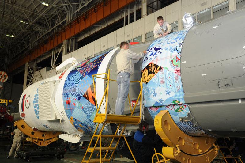 Lancement & retour sur terre de Soyouz TMA-11M  - Page 2 Soyuz109