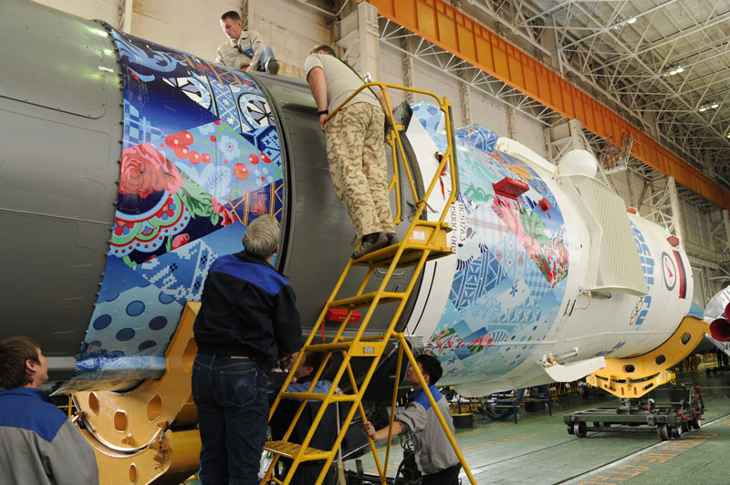 Lancement & retour sur terre de Soyouz TMA-11M  - Page 2 Soyuz110