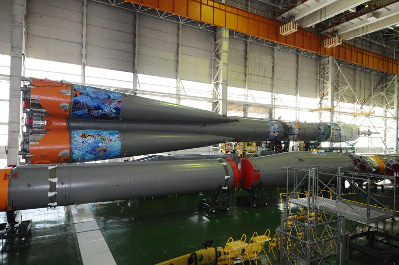 Lancement & retour sur terre de Soyouz TMA-11M  - Page 2 Soyuz114