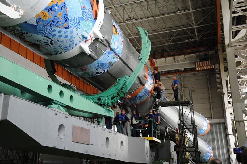 Lancement & retour sur terre de Soyouz TMA-11M  - Page 2 Soyuz115