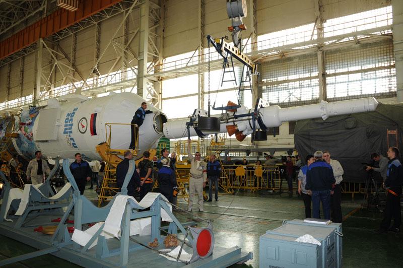 Lancement & retour sur terre de Soyouz TMA-11M  - Page 2 Soyuz119