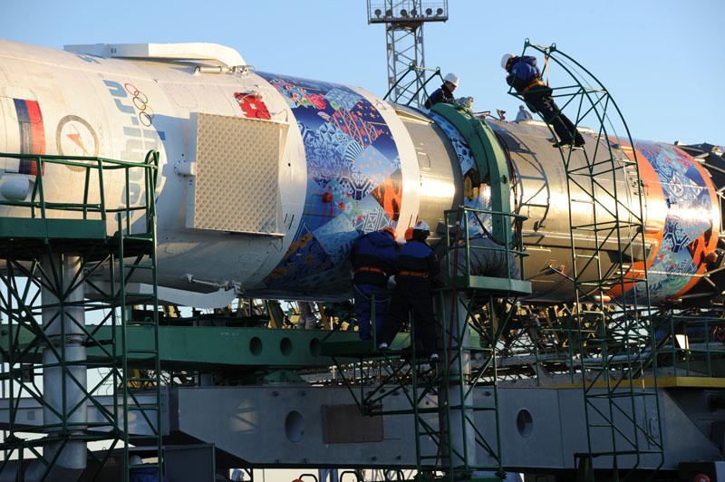 Lancement & retour sur terre de Soyouz TMA-11M  - Page 2 Soyuz124