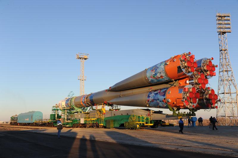 Lancement & retour sur terre de Soyouz TMA-11M  - Page 2 Soyuz125