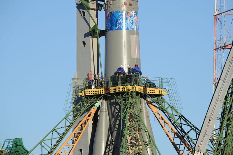 Lancement & retour sur terre de Soyouz TMA-11M  - Page 2 Soyuz134