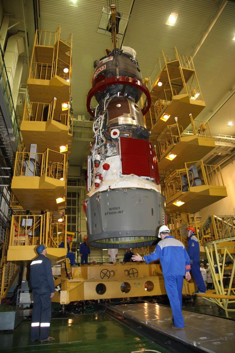 Lancement Soyouz-FG / Soyouz TMA-12M - 25 mars 2014 Soyuz196