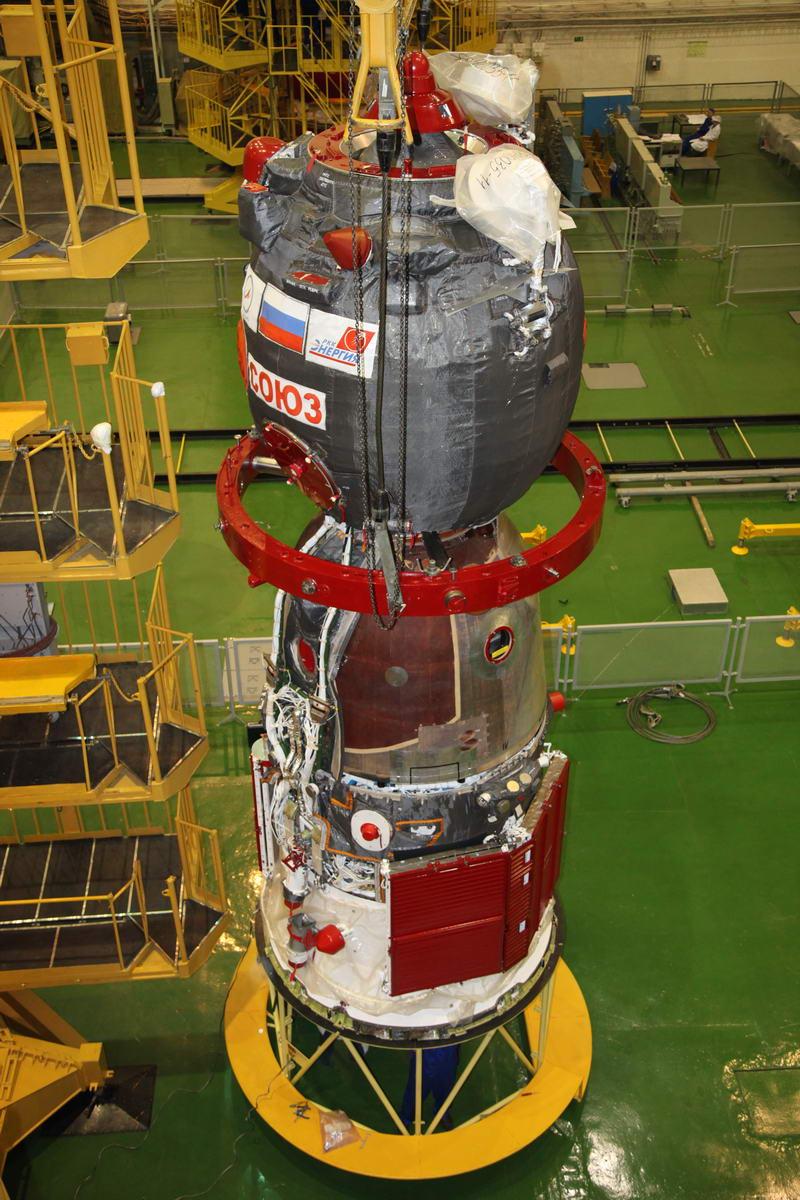 Lancement Soyouz-FG / Soyouz TMA-12M - 25 mars 2014 Soyuz197