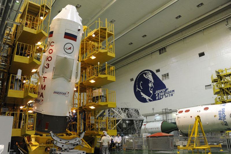 Lancement & retour sur terre de Soyouz TMA-11M  Soyuz_18