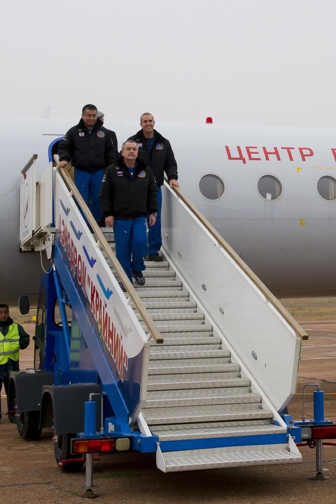 Lancement & retour sur terre de Soyouz TMA-11M  Soyuz_45