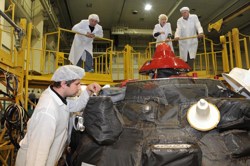 Lancement & retour sur terre de Soyouz TMA-11M  Soyuz_76
