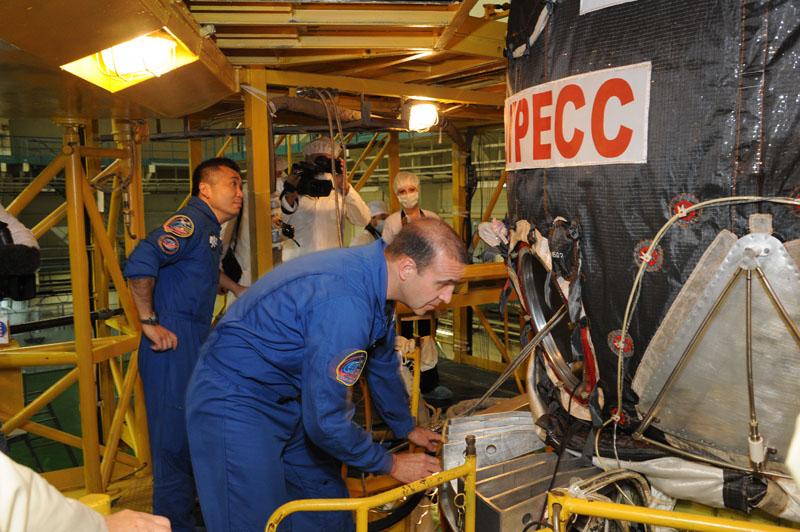 Lancement & retour sur terre de Soyouz TMA-11M  Soyuz_97
