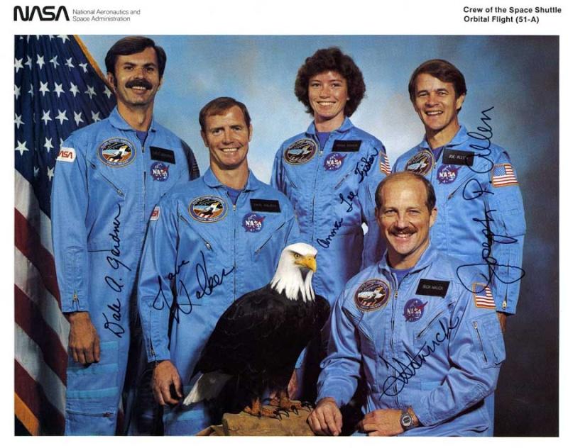 Disparition de l'astronaute Dale Gardner (1948-2014) Sts-5110