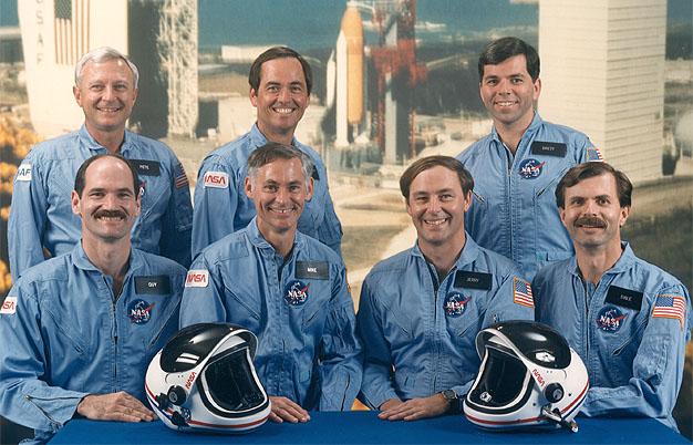 Disparition de l'astronaute Dale Gardner (1948-2014) Sts-6210