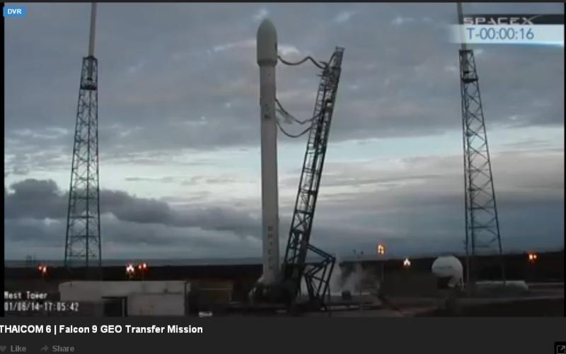 Lancement Falcon 9  / Thaicom 6 - 6 janvier 2014  - Page 2 Thaico11