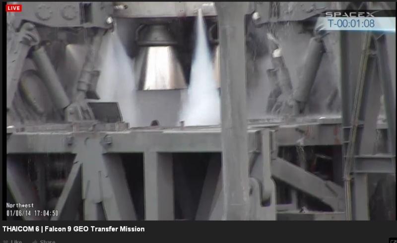 Lancement Falcon 9  / Thaicom 6 - 6 janvier 2014  - Page 2 Thaico12