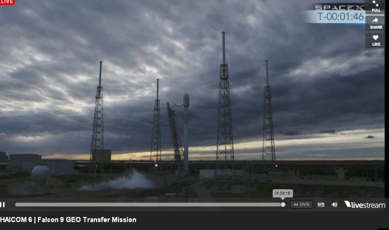 Lancement Falcon 9  / Thaicom 6 - 6 janvier 2014  - Page 2 Thaico13