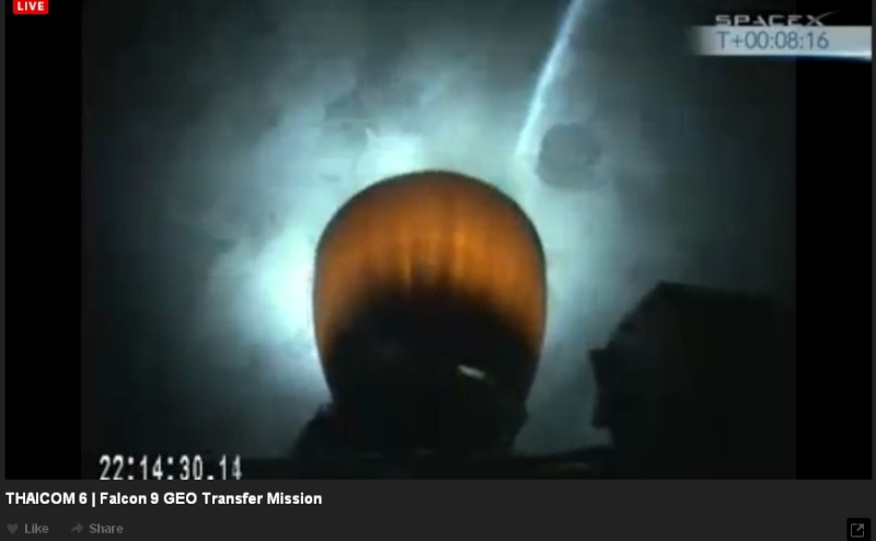 Lancement Falcon 9  / Thaicom 6 - 6 janvier 2014  - Page 2 Thaico15