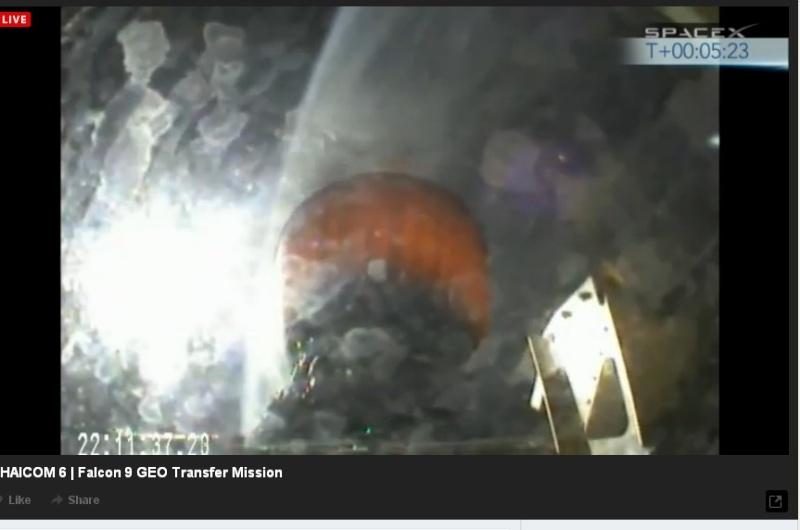 Lancement Falcon 9  / Thaicom 6 - 6 janvier 2014  - Page 2 Thaico16