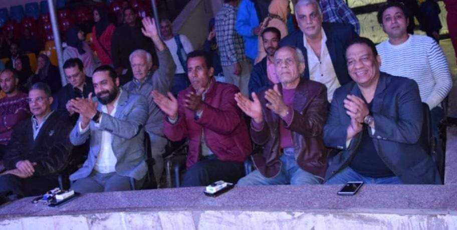 رئيس البيت الفني للفنون الشعبية يكرم  أوسا التميمي بالسيرك القومي     كتبت مروه حسن  Receiv34