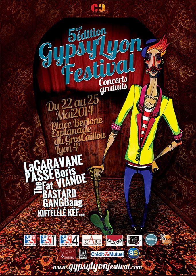 Concert SANFUEGO au Gypsy Lyon Festival 98844112