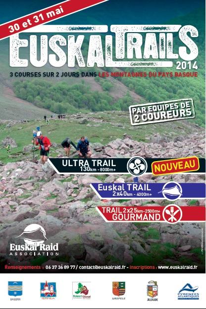 Euskal Trail - 30 et 31 Mai 2014 Affich10