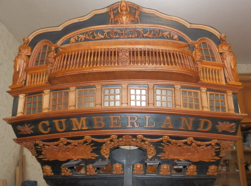 HMS Cumberland 1774, 1:36  Pa242513