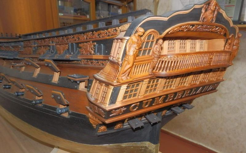 HMS Cumberland 1774, 1:36  Pa242516